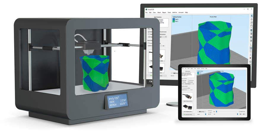 Simplify3D - 3D printing slicing software