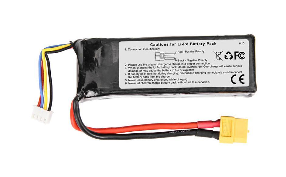 Akumulator Li-po 11.1V 2200mAh 3S Runner 250-Z-26 | Walkera Runner 250 BNF, RFT1, RFT2, RFT3, RFT4, Advance | synapse.com.pl
