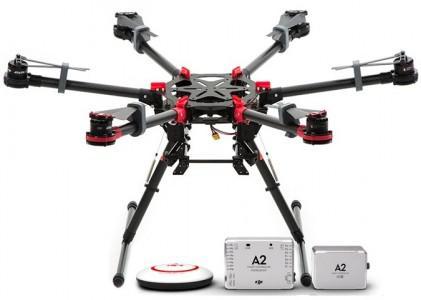 Dron Hexacopter DJI S900 + kontroler lotu A2 | synapse.com.pl