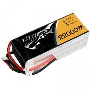 LiPo → Akumulatory 22.2V (6S) → 22000mAh 25C TATTU Gens Ace
