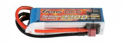 LiPo → Akumulatory 11.1V (3S1P) → 2200mAh 45C TATTU
