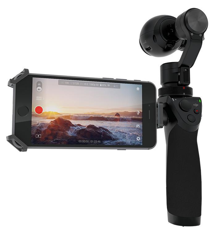 DJI OSMO, 3-osiowy stabilizator kamery 4K z uchwytem ręcznym