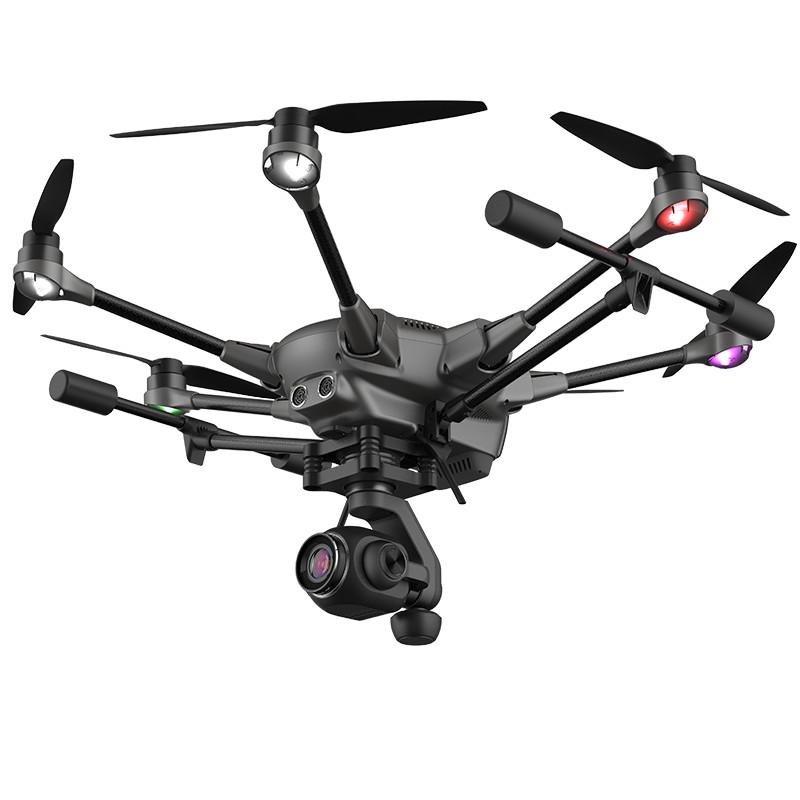 Hexacopter YUNEEC TYPHOON H PLUS z kamerą 4K