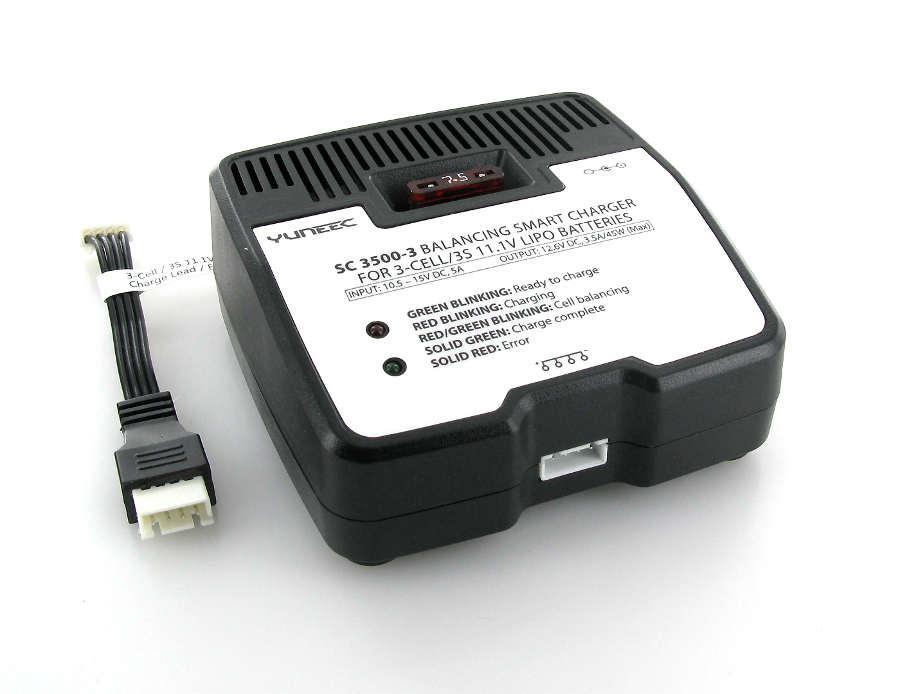 Akcesoria: Ładowarka Li-Po z balanserem 3S 11.1V, model SC3500-3 DC | Yuneec Typhoon Q500
