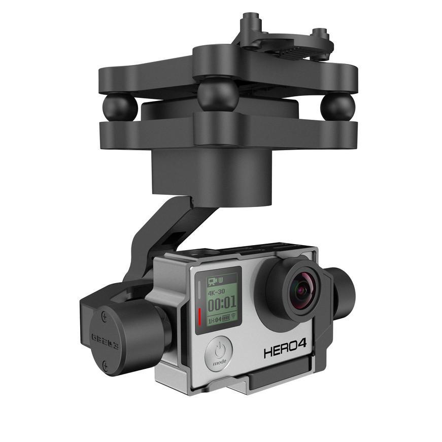 Akcesoria: Yuneec Gimbal GB 203 dedykowany do GoPro HERO 3/3+/4 + MK58 Downlink