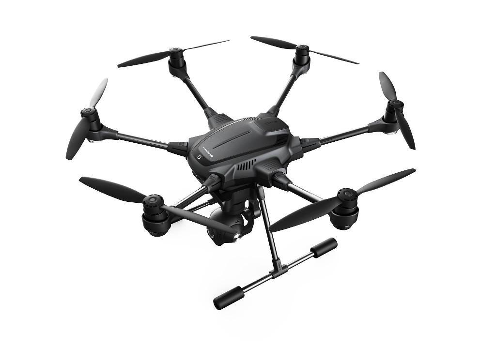 Hexacopter Typhoon H PRO, aparatura ST16, gimbal-kamera CGO3+, Wizard, 2 akumulatory, plecak /YUNEEC | synapse.com.pl