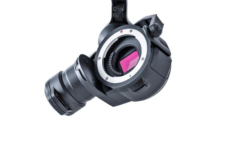 Kamera z gimbalem ZENMUSE X5 (bez obiektywu) | DJI Inspire 1 | synapse.com.pl