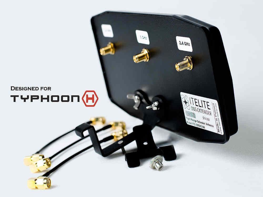 Akcesoria: Antena panelowa ITE-DBS05.6B do aparatur ST16/ST16+, ST24/ST24+ YUNEEC