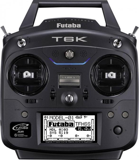Aparatura T6K 6CH 2.4GHz T-FHSS + odbiornik R3006SB | Futaba | synapse.com.pl