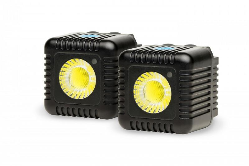 Lampy LED LUME CUBE - DUAL PACK (GUNMETAL GREY)