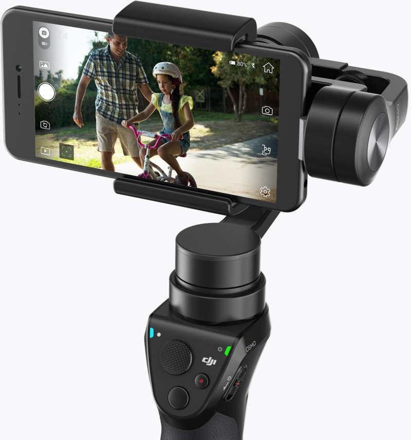 DJI OSMO Mobile - stabilizator obrazu do użytkowania ze smartfonami
