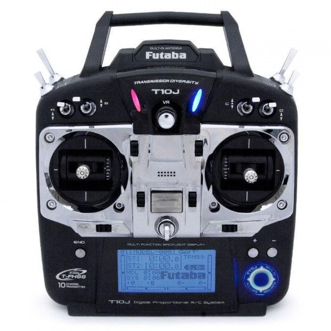 Aparatura T10J 10CH 2.4GHz T-FHSS + odbiornik R3008SB MODE 2 | Futaba | synapse.com.pl