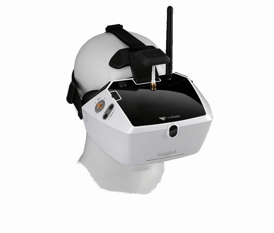 Akcesoria: Goggle 4 Entry 5.8GHz FPV HD (40 kanałów) | Walkera