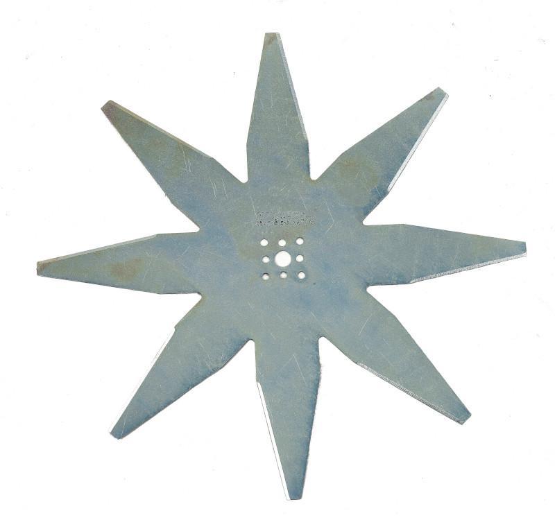 Nóż o średnicy D25 cm, 8-ramienny do kosiarek Ambrogio L85