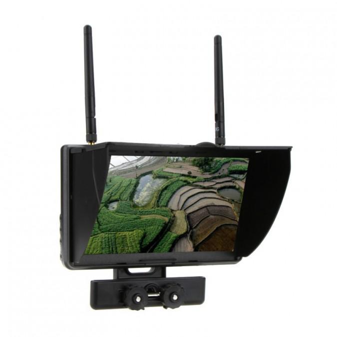 """Akcesoria: Monitor FPV Boscam Galaxy 5.8G 32CH LCD 7"""""""