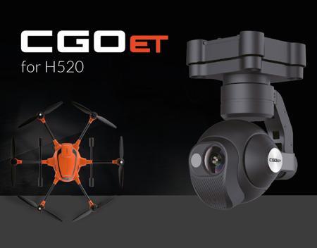 Kamera termowizyjna CGO-ET (RGB i INFRARED) | H520 YUNEEC | synapse.com.pl