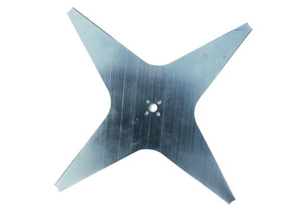 Nóż o średnicy D25 cm, 4 ostrza do robotów Ambrogio L85, L200 Black