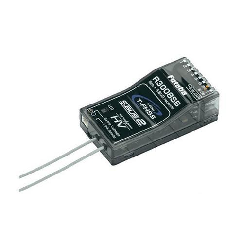 Odbiornik R3008SB 8CH 2.4GHz T-FHSS S.BUS2 | Futaba | synapse.com.pl
