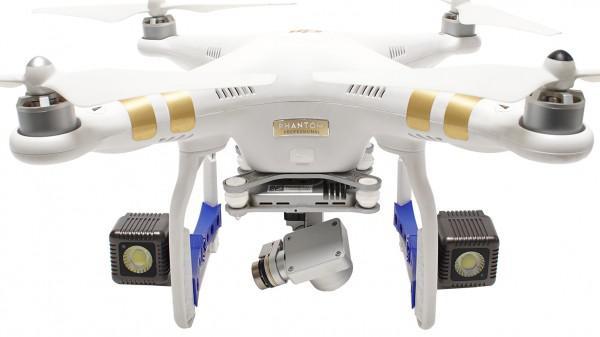 LAMPY LED LUME CUBE KIT DRON DJI PHANTOM 3 /KOLOR: CZARNY