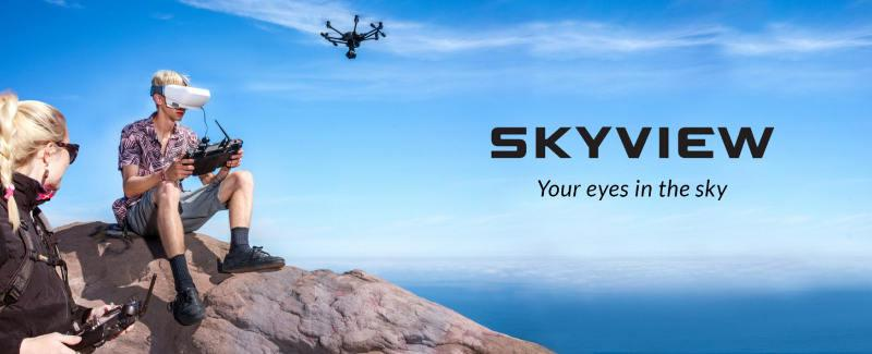 Goggle SKYVIEW FPV HD | synapse.com.pl