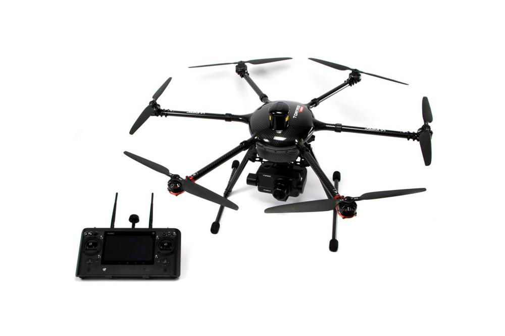 Hexacopter YUNEEC Tornado H920 PLUS RTF gimbal-kamera CGO4 (3x optyczny zoom), aparatura ST16, ProAction | synapse.com.pl