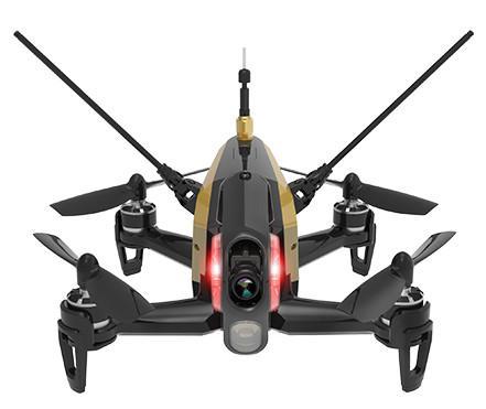 Dron wyścigowy Walkera Rodeo F150 RTF1 (akumulator, ładowarka, Devo 7, kamera HD 600TVL, transmisja 5.8GHz)