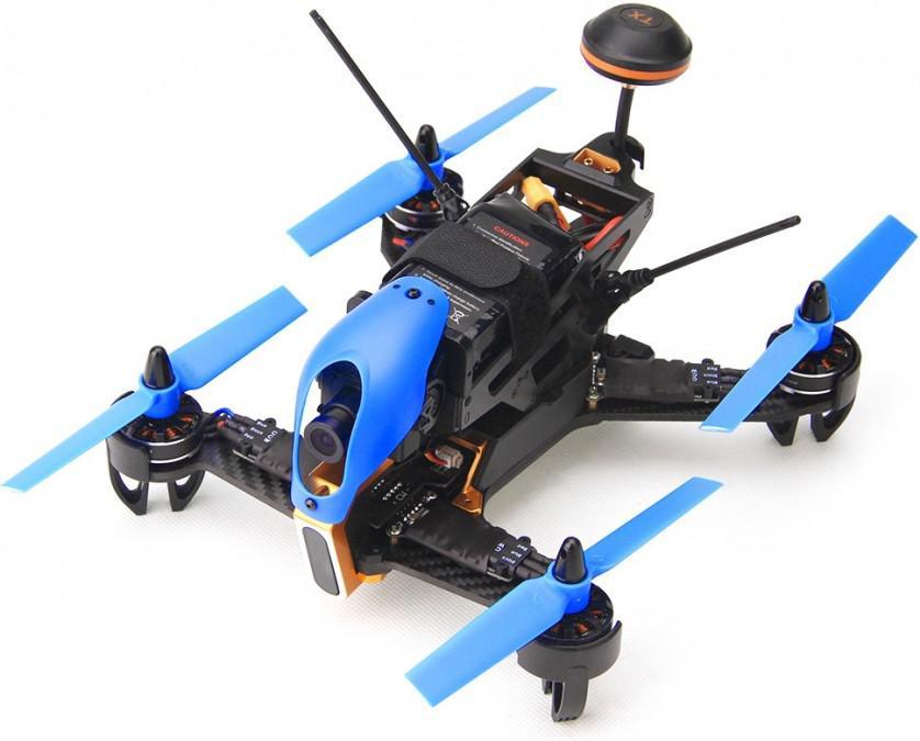 Dron wyścigowy Walkera F210 3D Edition (Devo 7, kamera HD 700TVL, FPV, OSD, zasięg 800m)