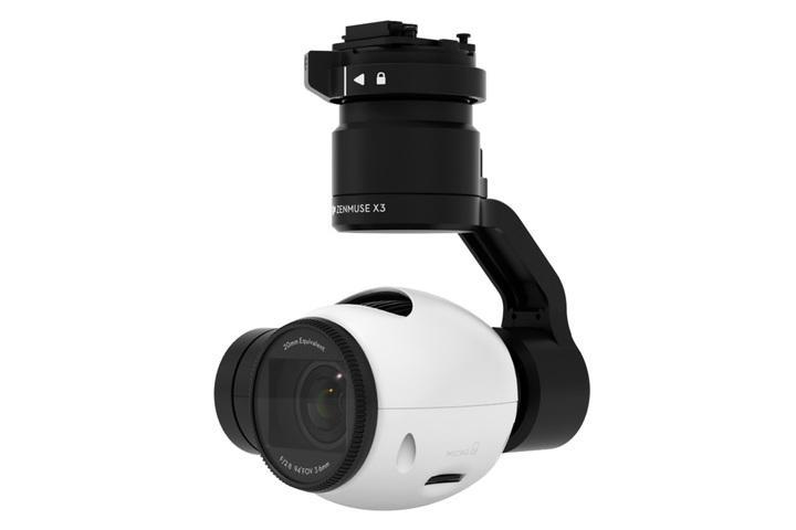 Kamera z gimbalem ZENMUSE X3, zoom 7x | DJI Inspire 1/Matrice 100/Matrice 600  | synapse.com.pl